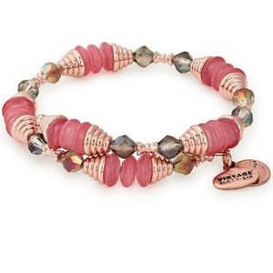 Alex and Ani Coral Haven Wrap Bracelet